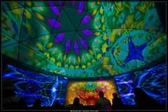 Interactive Visionary Art Gallery Installation, Entheongenesis Australis Festival Australia